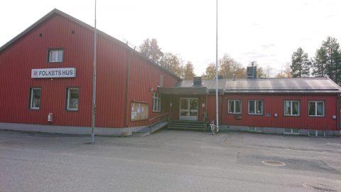 Folketshus i Bastuträsk