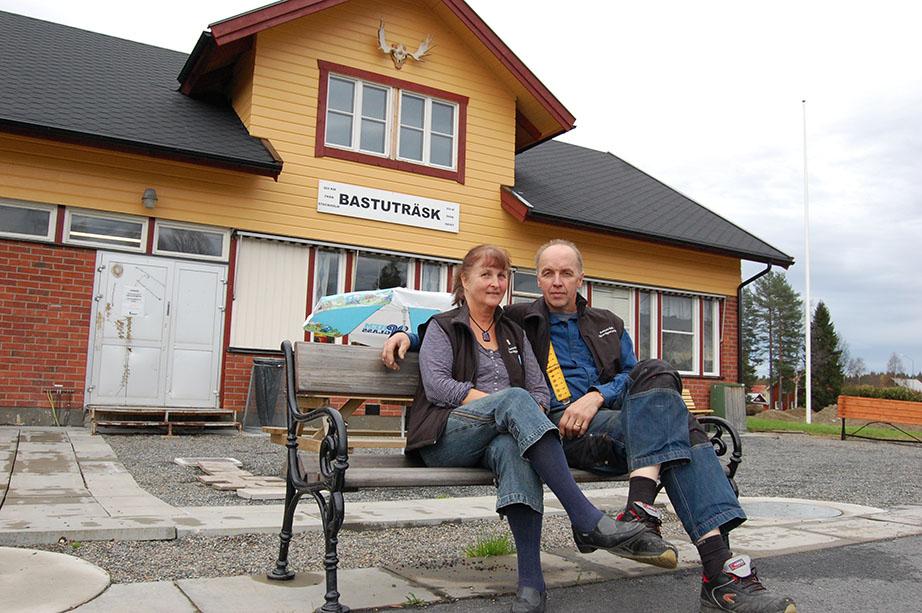 Värdpar station Bastuträsk