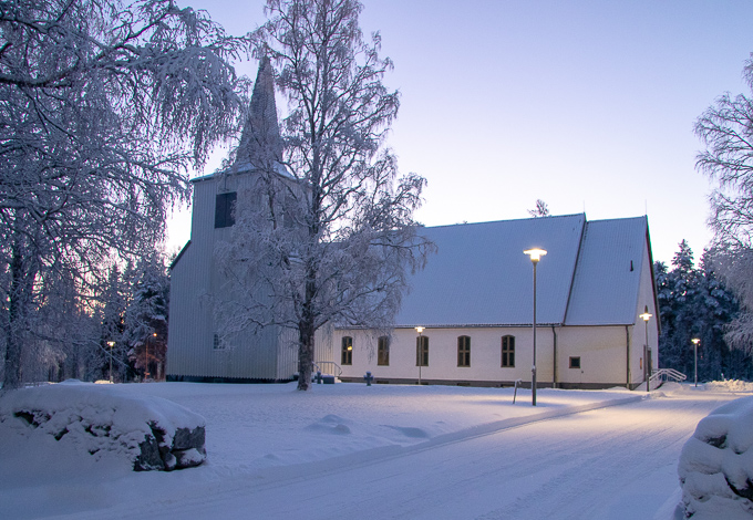 Kyrkan i Bastuträsk