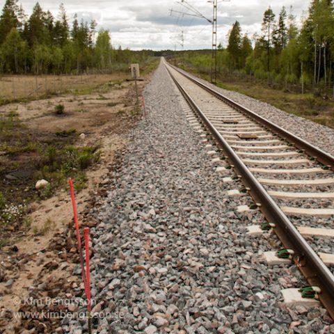 SJK-Bastutrask bild på järnväg