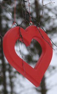 Romantiska stigen symbol